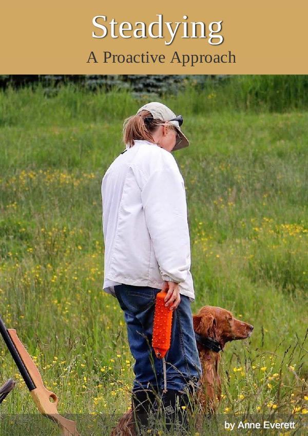 hunt dog steadying
